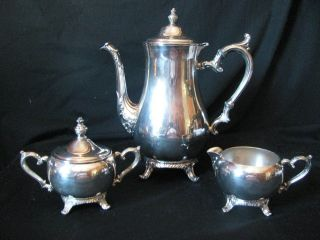 wm rogers tea set in Tea/Coffee Pots & Sets