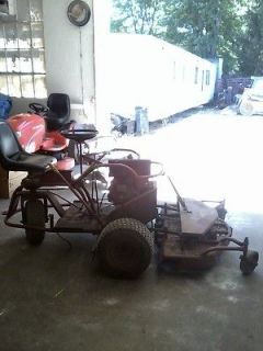 TURN, LAWN MOWER, COMMERCIAL, HYDROSTATIC, MOWER WITH 48 DECK, USED