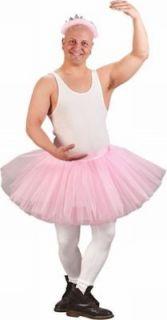 pink TUTU BALLERINA dress funny adult mens halloween costume ONE SIZE