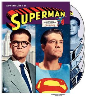 The Adventures of Superman The Complete 3rd 4th Seasons DVD, 2006, 5