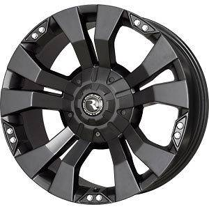 New 18X9 5x127/5x135 RACELINE WHL Black Wheels/Rims