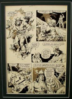 SAVAGE SWORD OF CONAN No.26   ORIGINAL ART PAGE   JOHN BUSCEMA   1/4