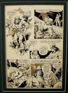 SAVAGE SWORD OF CONAN No.26   ORIGINAL ART PAGE   JOHN BUSCEMA   1/4