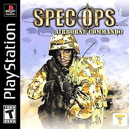Spec Ops Airborne Commando Sony PlayStation 1, 2002