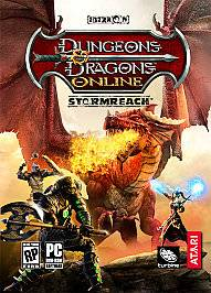 Dungeons Dragons Online Stormreach PC Games, 2006
