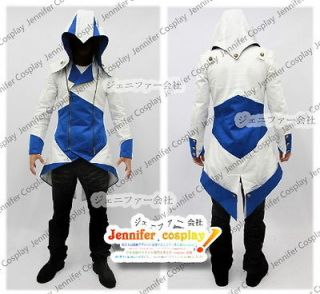 Assassins Creed III Conner Kway Casual Cosplay Costume Jacket Three