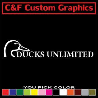Unlimited [HUGE] Car Truck ATV Vinyl Decal 9.5x50 You Pick Color