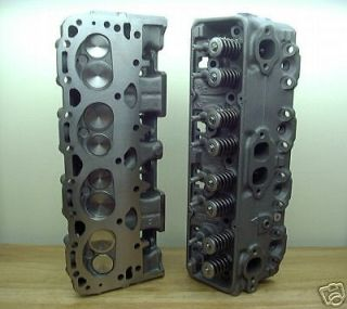 PERFORMANCE 327 350 400 CHEVY CYLINDER HEADS 896 SBC BRONZE GUIDES