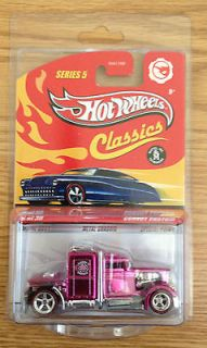 2009 Hot Wheels Classics Series 5 #26 CHASE pink Convoy Custom