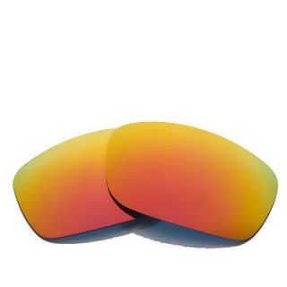 New Walleva Polarized Fire Red Lenses For Oakley Fives Squared