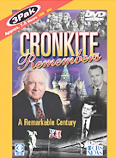 Cronkite Remembers DVD, 2003, 3 Disc Set