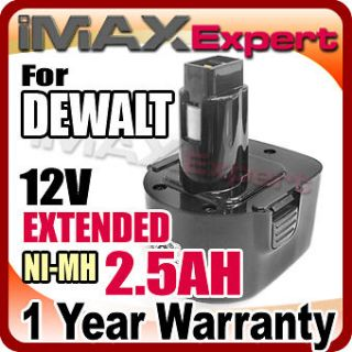 NI MH BATTERY for DEWALT 12 VOLT 9071 9072 Cordless Drill Power Tool