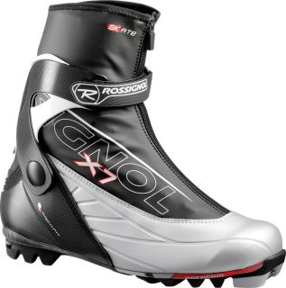 Brand New In Box Rossignol Cross County Ski Boots X7 Skate Silver