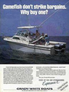 1985 Grady White Boats State Of The Art Sportfishing Ad