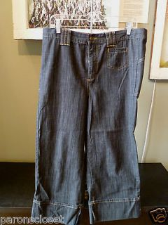 Maternity Jeans by Holly Robinson Peete Size Med Free Shipping Cot