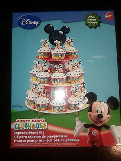 Mickey Mouse Clubhouse Cupcake Stand Birthday Party Kit