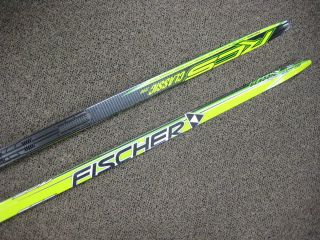 Fischer RCS Classic Zero NIS XC Skis 2010 207 cm 43 Kilo Medium Flex
