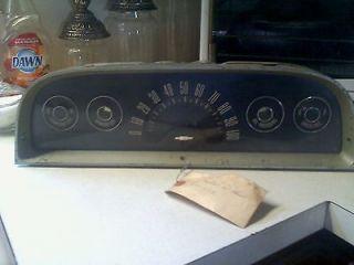 63 Chevy Truck Suburban Custom Deluxe Speedometer Dash Cluster Gauges