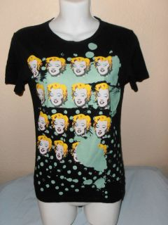 ANDY WARHOL MARILYN MONROE TEE SIZE MEDIUM