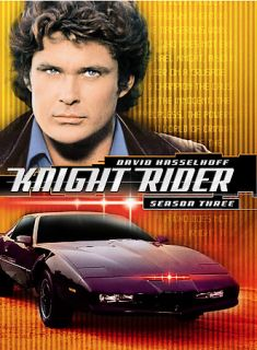 Knight Rider   Season 3 DVD, 2006, 3 Disc Set