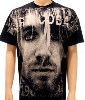 Nirvana Kurt Cobain Rock Band Alternative T shirt Sz XL