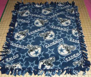 Dallas Cowboys Fleece Baby Pet Doggie Blanket Blankie