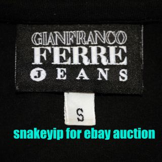 AuthenticGian​franco Ferre Jeans Polo Tee T shirt Italy