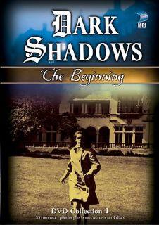 Dark Shadows   The Beginning Episodes 1 35 DVD, 2007, 4 Disc Set