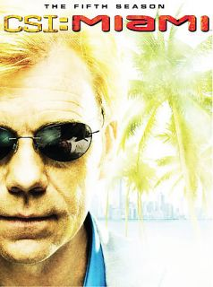 CSI Miami   The Complete Fifth Season DVD, 2007, 6 Disc Set