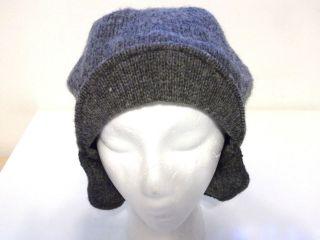 Bean gray hat hunter farmer woodsman wool & nylon older style