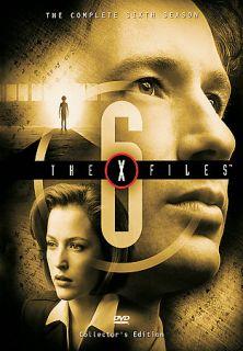 The X Files   The Complete Sixth Season DVD, 6 Disc Set, Sensormatic