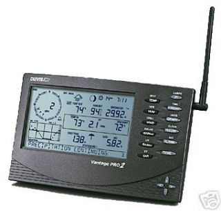 DAVIS Vantage Pro2 Plus Wireless Weather Station   6162