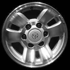 1996 2002 Toyota 4Runner 16x7 factory oem 6 spoke machined wheel rim