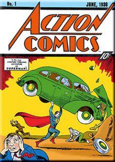 DC Comics Superman Action Comics #1 Comic Book Cover MAGNET