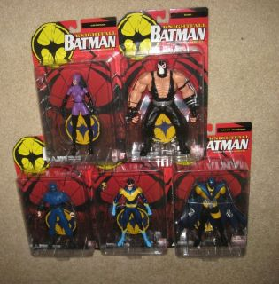 BATMAN KNIGHTFALL DC Direct Figure Set~Bane/Catwoman/Nightwing/Azrael