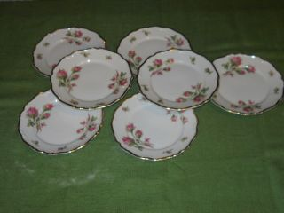 Bread & Butter Plates Edelstein Bavaria China Maria Theresia Moss
