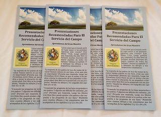 Testigos de Jehova Ayudas herramienta para el Ministerio (espanol