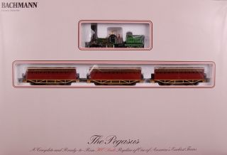 Bachmann HO Scale Train Set Analog Pegasus 00690