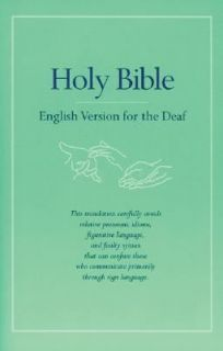 Holy Bible English Version for the Deaf by Baker Publishing Group