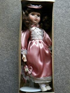 ASHLEY BELLE Bisque Porcelain Doll ELIZABETH w Certificate of