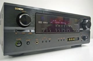 Denon AM FM Stereo Receiver Tuner Amplifier Amp AVR 2105