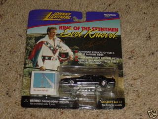 1998 PLAYING MANTIS EVEL KNIEVEL CUSTOM SPORTS CAR NRFP