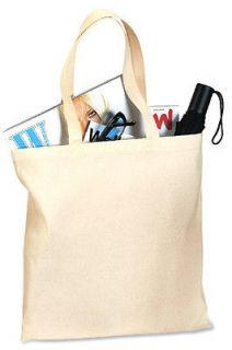 blank canvas tote bags in Clothing,