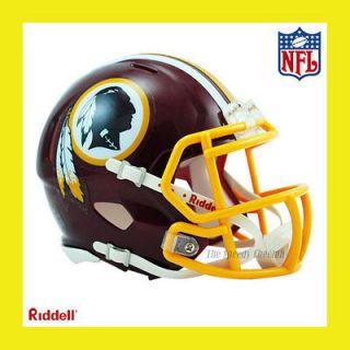 WASHINGTON REDSKINS OFFICIAL NFL MINI SPEED FOOTBALL HELMET by RIDDELL