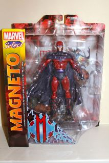 Diamond Select Toys Marvel Select Magneto Action Figure 7 16 Pts