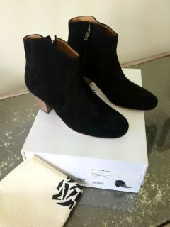 Isabel Marant Dicker Boots in Noir