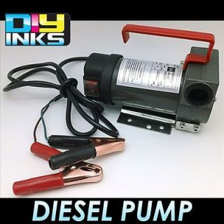 DC Portable Cast Iron Transfer Pump for Diesel Biodiesel and Kerosene