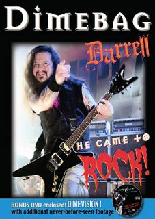 Dimebag Darrell   He Came To Rock DVD, 2008