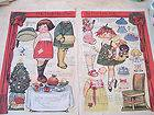 Jan 1921 Dolly Dingle paper doll   2 page party for Polly   by Grace