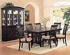 CROWN MARK SAVOY DINING ROOM SET TABLE 2 ARM CHAIRS 4 SIDE CHAIRS NEW